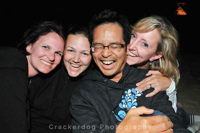 Beth, Jen, Rally, and Aimee