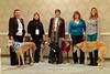 Patti Goettler, Gale Hollstein, Connie Hilker, KIm Fraser, and Mary Ann Sapp