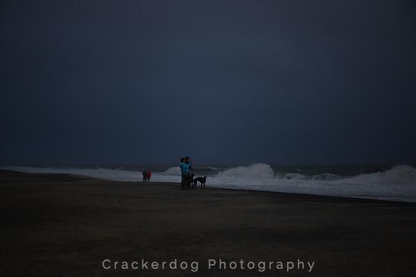 It really wasn't this gloomy...but it sure felt like it.