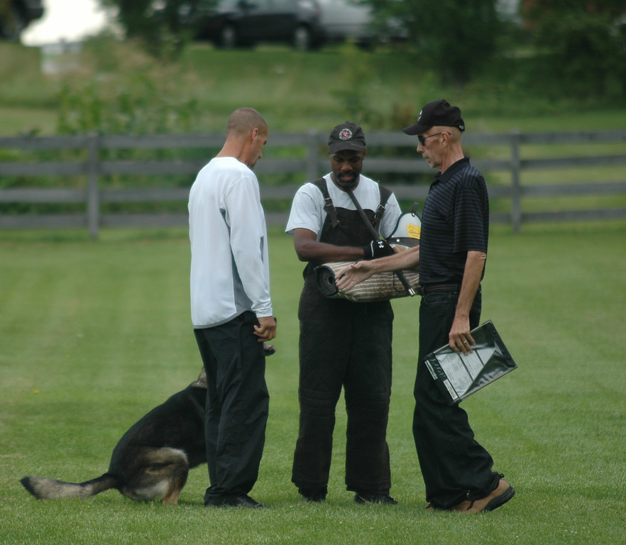 Athos<br /> IPO 1 protection<br /> Indian Creek Schutzhund Club<br /> Helper Kenneth Johnson<br /> USCA/SV Mike Hamilton<br /> <br /> photo by Elad Bachar