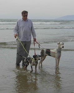 Pismo Beach with Billy & Baby