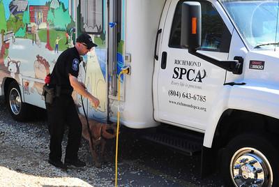 Bomb Squad at the Richmond SPCA