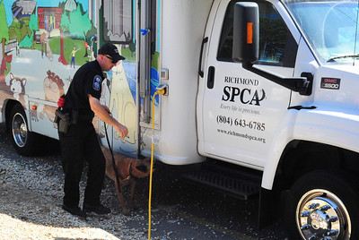 Bomb Squad at the Richmond SPCA