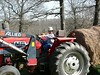 GT1 on the tractor.