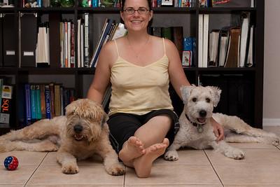 Chloe And Bear 8/2/2009