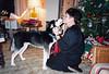 Clea giving Aunt Lyn kisses