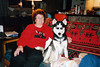 Clea with Grandma Duncan