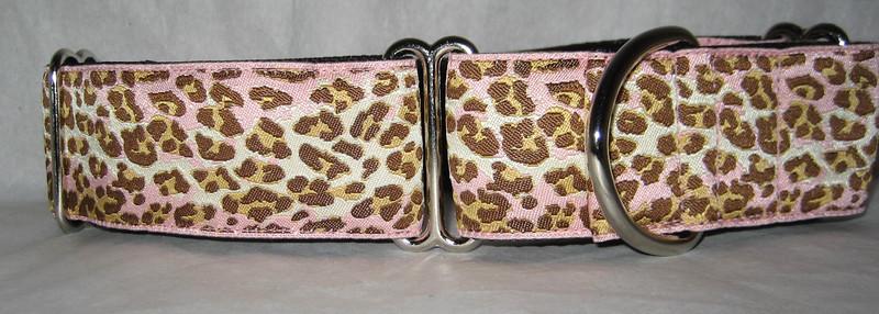 "Leopard Pink 1 1/2"" wide"