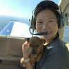 Pilot Jonny's wife  Jean: co-pilot and Army Aviator.