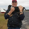 """Pilot Mike and """"Duck"""",  now called Finn,  at Enterprise, AL."""