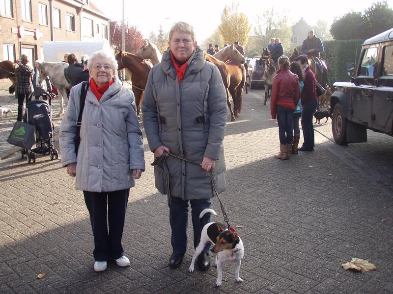 Tante Wiske, Rosa en Jefke.