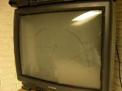 downstairs TV