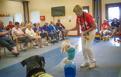 Pets Add Life, Therapy Dogs,   Assisted Living visits, 8 13 2018 ,  DSC06577
