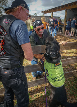 """DrLight and his Motor Cycle friends, """"Hitin the Road for Hospice"""" annual  Event  2018"""