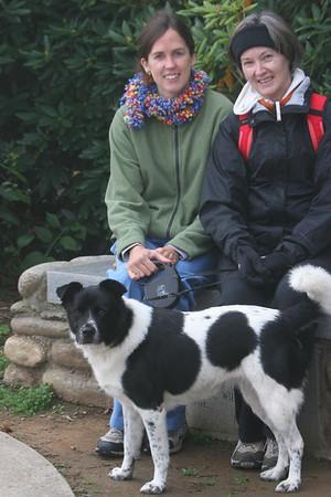 Catherine, Melanie & Bessie in Lake Junaluska, NC