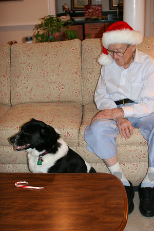 """""""Santa Daddy"""" & Bessie"""