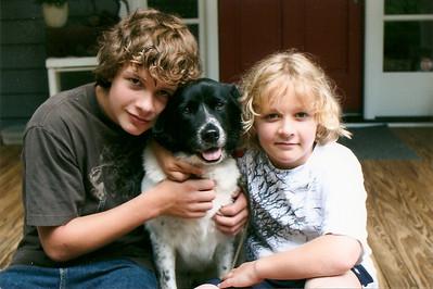 Caleb, Bessie & Wyatt - 4/09