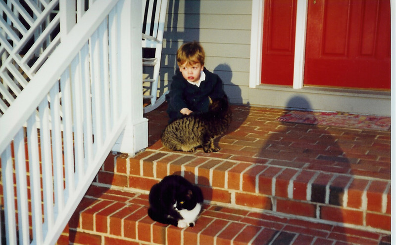 Caleb with Penny & Thunder    1999?