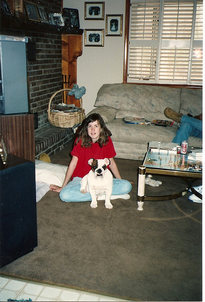 Catherine & Bubba - 4/92