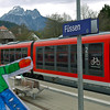 Stanley arrives in Füssen, Germany by train