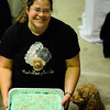 Amanda and Molly after Molly won her 20,000 point title<br /> Omaha Flyball Tournament<br /> November 8, 2014