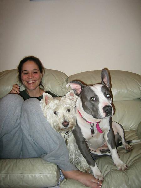 Jill, Gus, Kayla