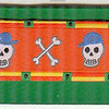 Skulls Wearing Hats on green