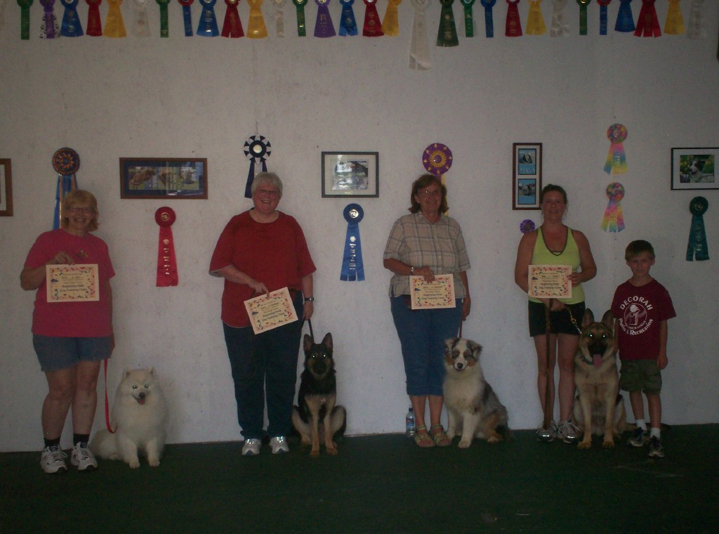 Graduation, Beginning Rally Obedience...on to Advanced :o)