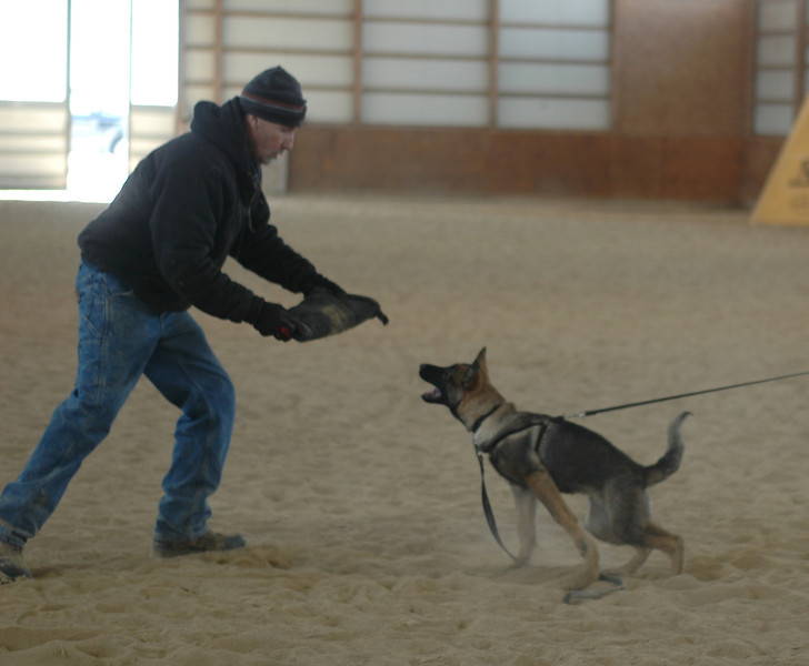 Gunnar goes for the grip