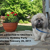 A Driveway birthday party for Chuckie