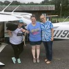 The ladies from Bigbee Humane  besides Mark's plane  Demopolis, AL.