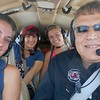 Savannah Eckstrom ,  Sanya Georgieva>,  Kendal Wilde  and Pilot MIke