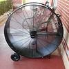 Big fan kept us cool!
