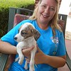 Sylvia is a Key Volunteer at Enterprise that makes thing happen. She also pick the pups up at Luverne. :)