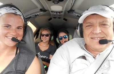 Skylar, Christine, Megan & Mike