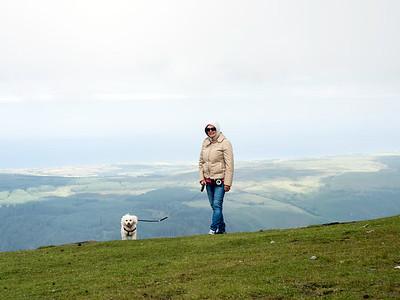 Pat and Kiri at Summit