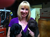 My wife and Puppies