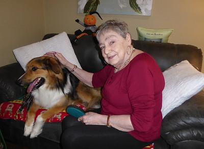 Therapy Dog Visit at Bayshore Estates