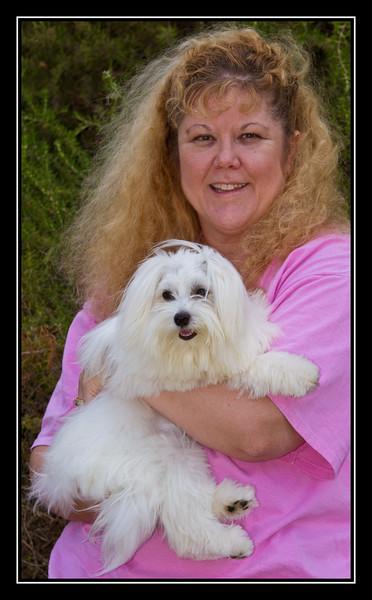 Malibu and his furever mom...