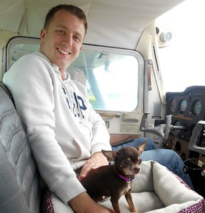 Dolce took right to Pilot John (Mac)!
