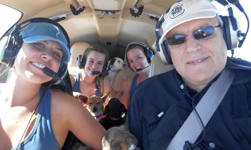 Megan, Emma & Taylor Lofton and Mike