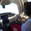 Emily flew us all the way form Orlando to Enterprise, AL!  (Gave George a break.)