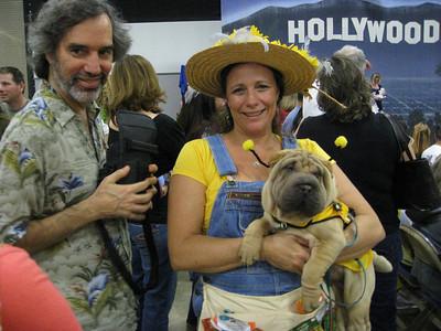 March 25th, 2009 - Ella Fitz Gella -  Mindy's new Sharpei Puppy