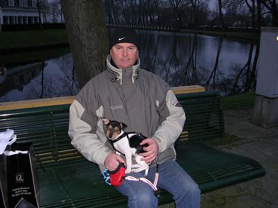 Met Jefke in Sluis.