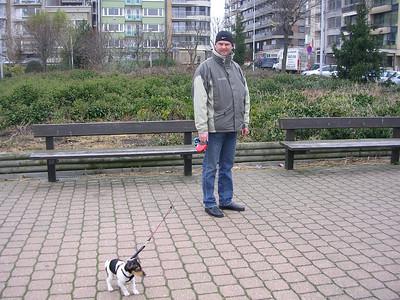 Met Jefke in Blankenberge.