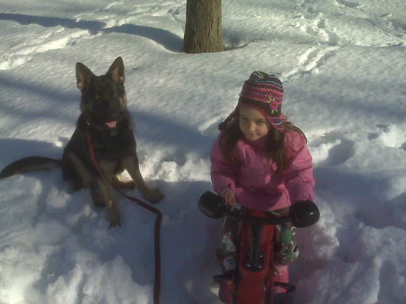 Emily & Sascha, February 2011