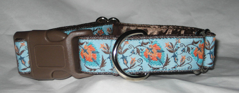 palmette turquoise buckle martingale