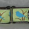 Blue Bird martingale collar NEW!