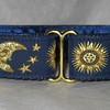 Celestial navy & gold