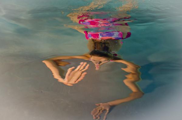 Maddie Underwater...